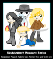 Skul gang :) - skulduggery-pleasant fan art