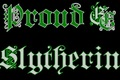 Slytherin Pride Baby!