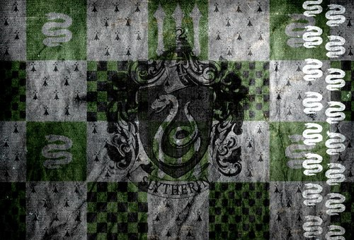 Slytherin wall