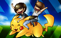 Smosh w/ Pikachu - smosh wallpaper