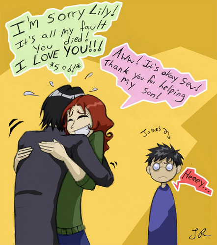 Snape & Lily <3