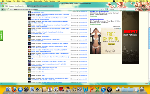 Spamming on the VRSOF! - fanpop Screencap