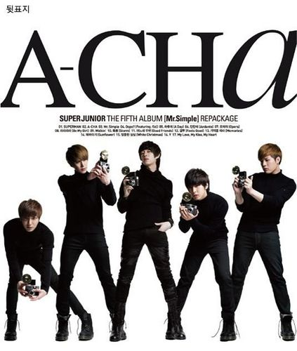 Super Junior 'A-CHA' 5th Repackage Album