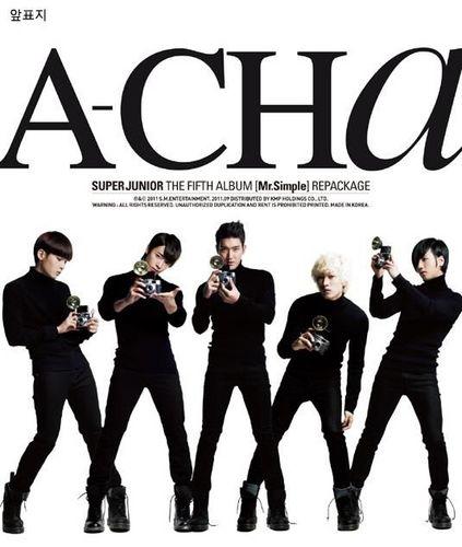 Super Junior 'A-CHA' 5th Repackage Album