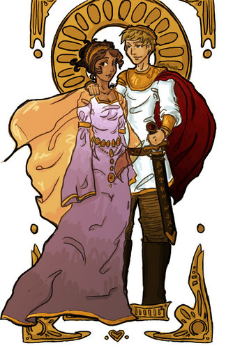 The King and reyna