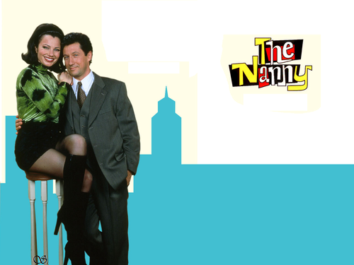 The Nanny wallpaper with a business suit and a well dressed person called The Nanny