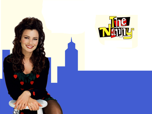 The Nanny wallpaper probably containing tights, a playsuit, and a chemise entitled The Nanny