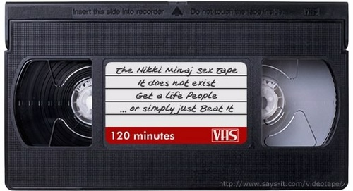 The Nikki Minaj Sex Tape