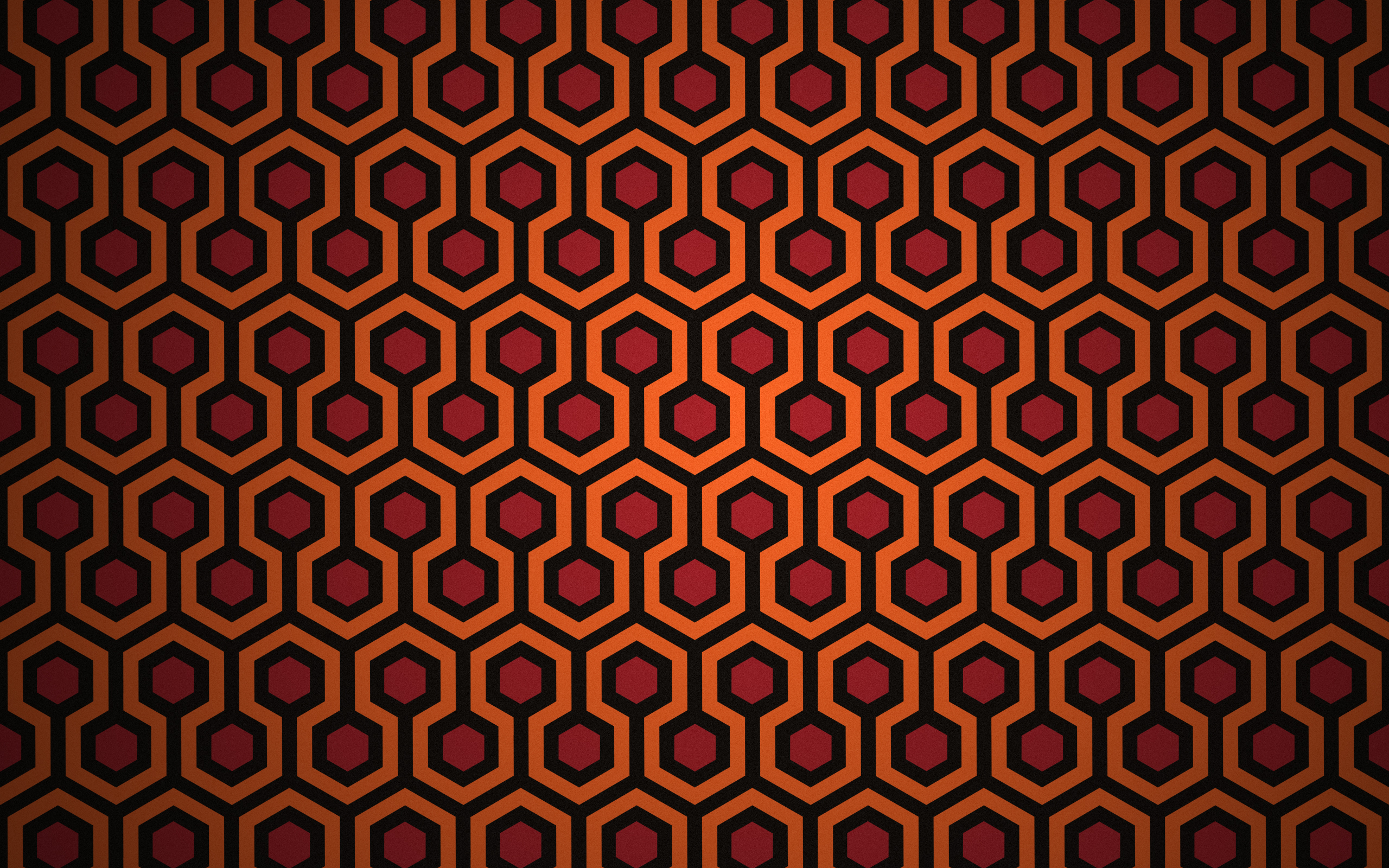 Wallpaper Based On The Carpet From The Shining Not