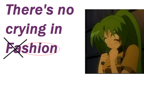 There's no crying in Shion