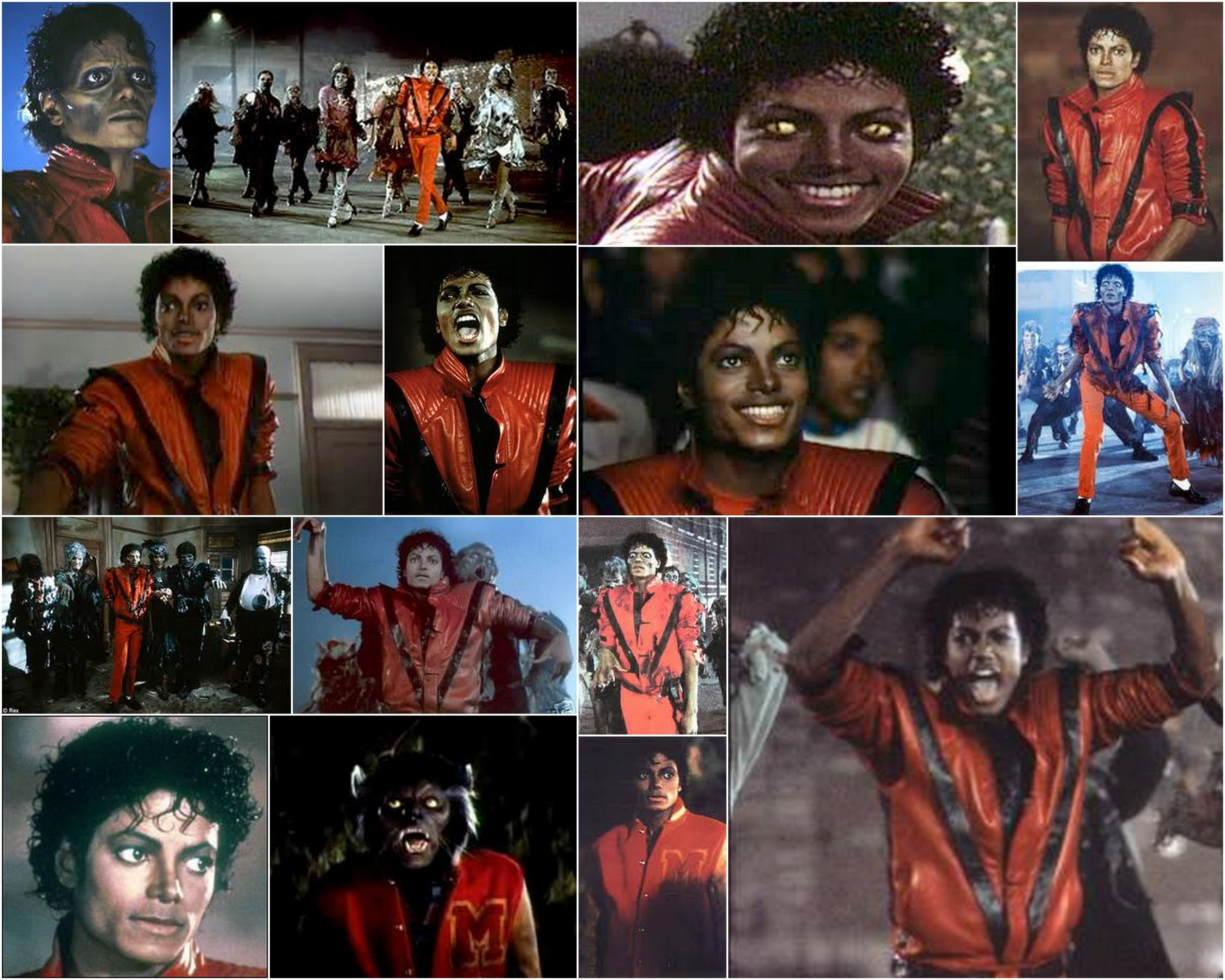 Michael Jackson Thriller Girl