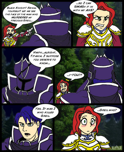 Titania meets the Black Knight, CONTAINS SPOILERS