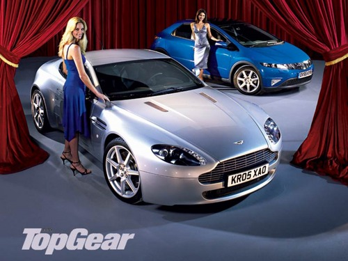 Top Gear wallpaper possibly containing a sports car, a coupe, and a sedan entitled Top Gear (;