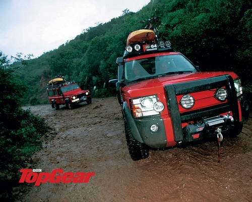 Top Gear wallpaper with a jeep called Top Gear (;