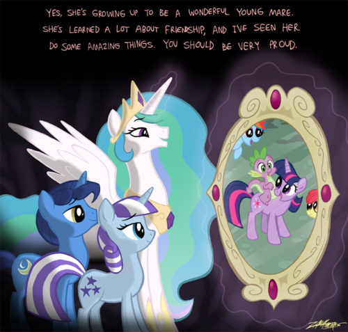 Twilight's Parents - my-little-pony-friendship-is-magic Fan Art