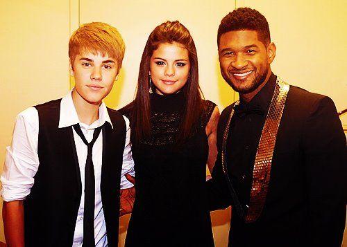 Usher and Jelena
