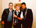 Usher and Justin Bieber <3 2011