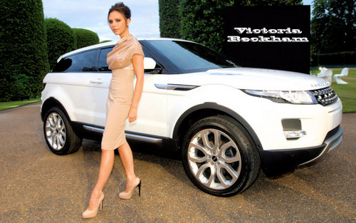 Victoria Beckham wallpaper possibly with a sedan, a sport utility, and a hatchback titled Victoria Beckham