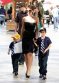 Victoria and her sons Romeo and Cruz - victoria-beckham photo