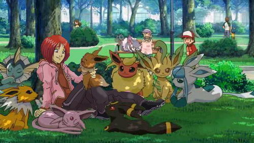 Eevee Evolutions Clan hình nền containing anime entitled W.I.T.C.H Evolution