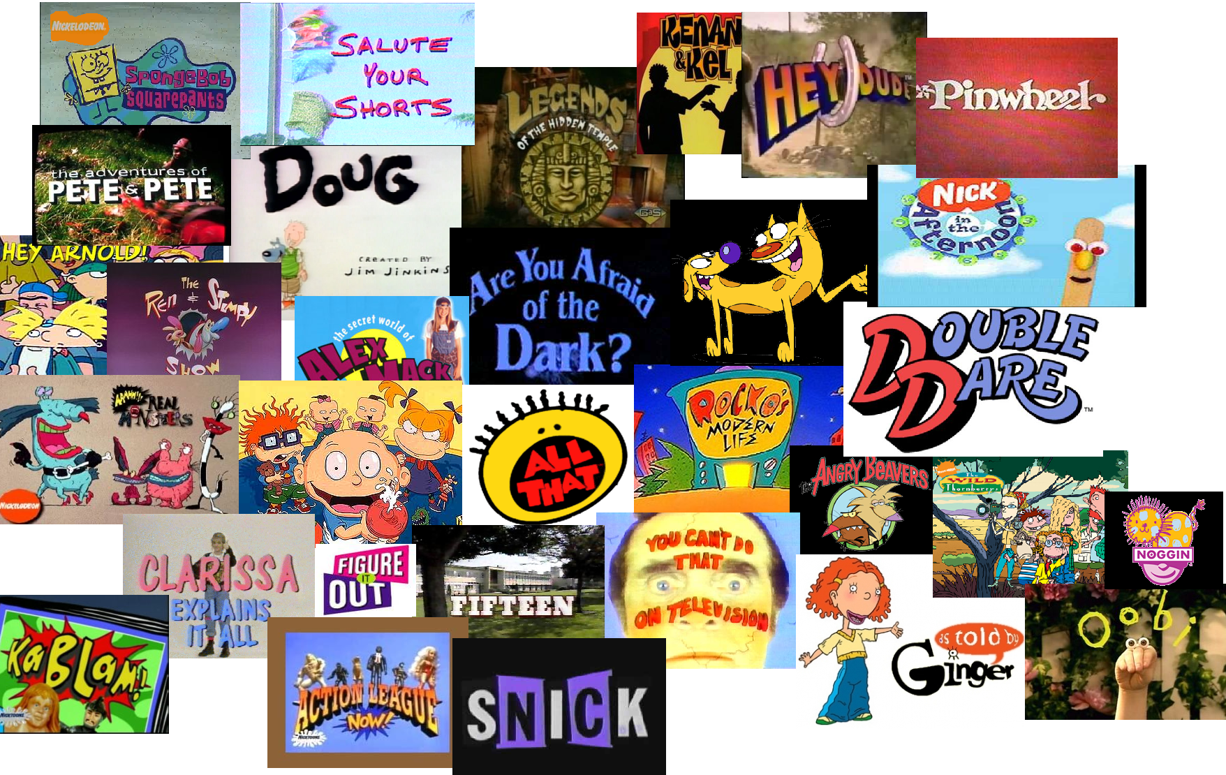 Old Nickelodeon Shows