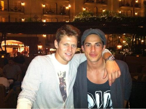 Zach Roerig and Micahel Trevino