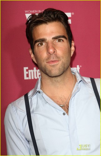 Zachary Quinto: Emmys Party & Jewelry Shopping!