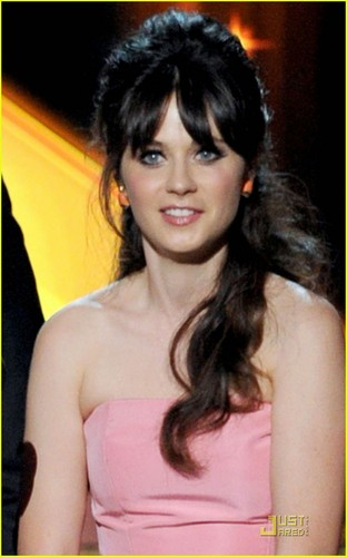 Zooey Deschanel at the 63rd Annual Primetime Emmy Awards (September 18).