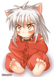 baby inuyasha and inuyasha and kagome