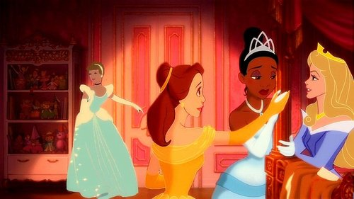 cinderella, belle, tiana and aurora