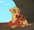 cute cubs  - kovu fan art