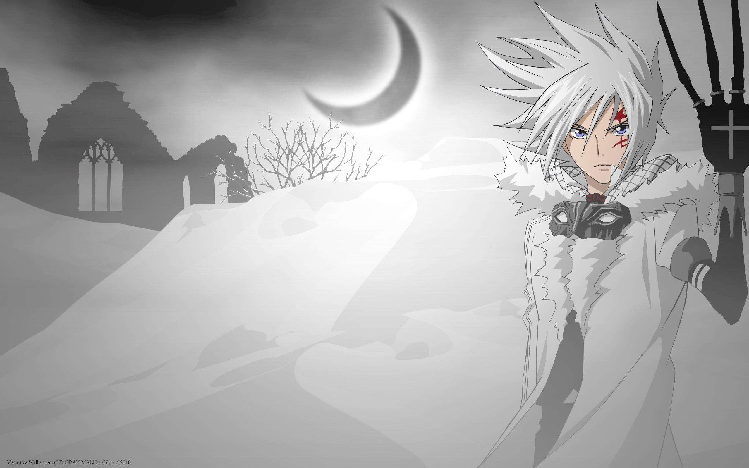 D gray man d gray man wallpaper 25478810 fanpop - D gray man images ...