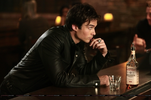 Damon Salvatore wallpaper possibly with a wine bar titled damon