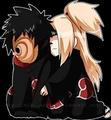 deidra and tobi - deidara-x-tobi photo
