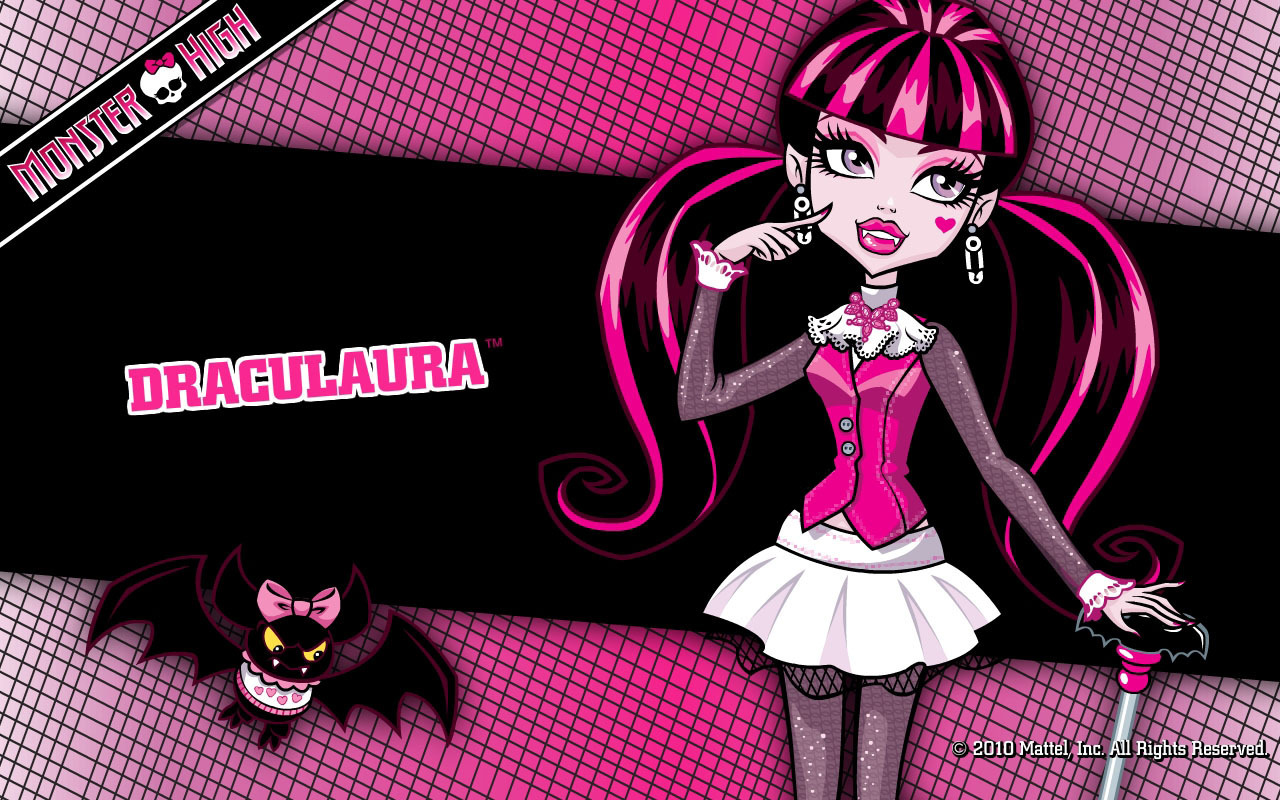 Monster high girls images draculaura hd wallpaper and background photos 25443634 - Image monster high ...