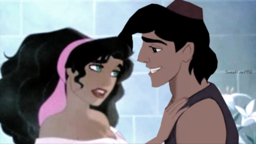 esmeralda and aladdin