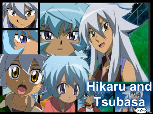Beyblade Hikaru And Tsubasa Hikaru And Tsubasa