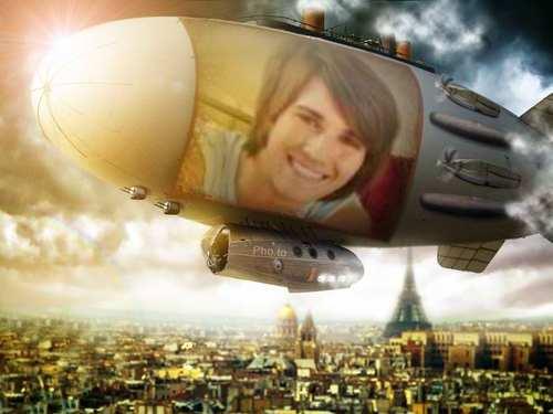 james-airship over paris