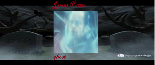 james potter's ghost