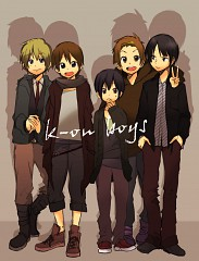 K-ON! wallpaper entitled k-on boys