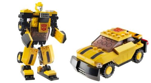 kre-o transformers small BUMBLEBEE