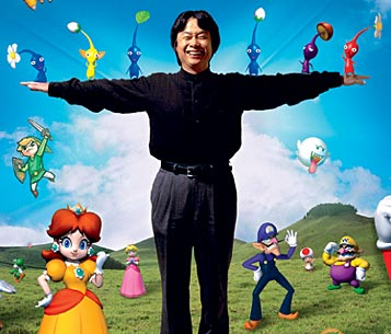 miyamoto with charaters