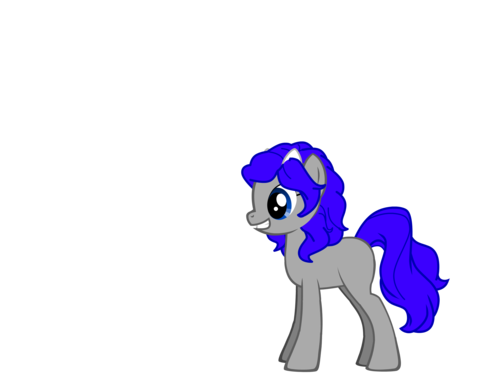 my OC Ichigo as a gppony, pony