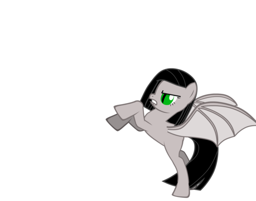 my OC Saya as a gppony, pony