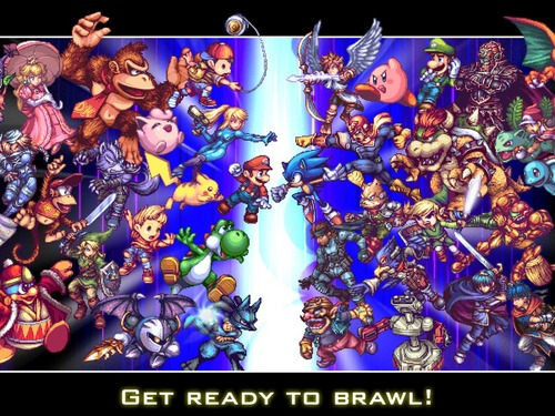 Super Smash Bros. Brawl দেওয়ালপত্র probably containing জীবন্ত called ready to brawl?