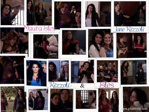 Rizzoli & Isles wallpaper possibly containing anime entitled rizzoli & isles