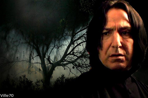 severus in the forest