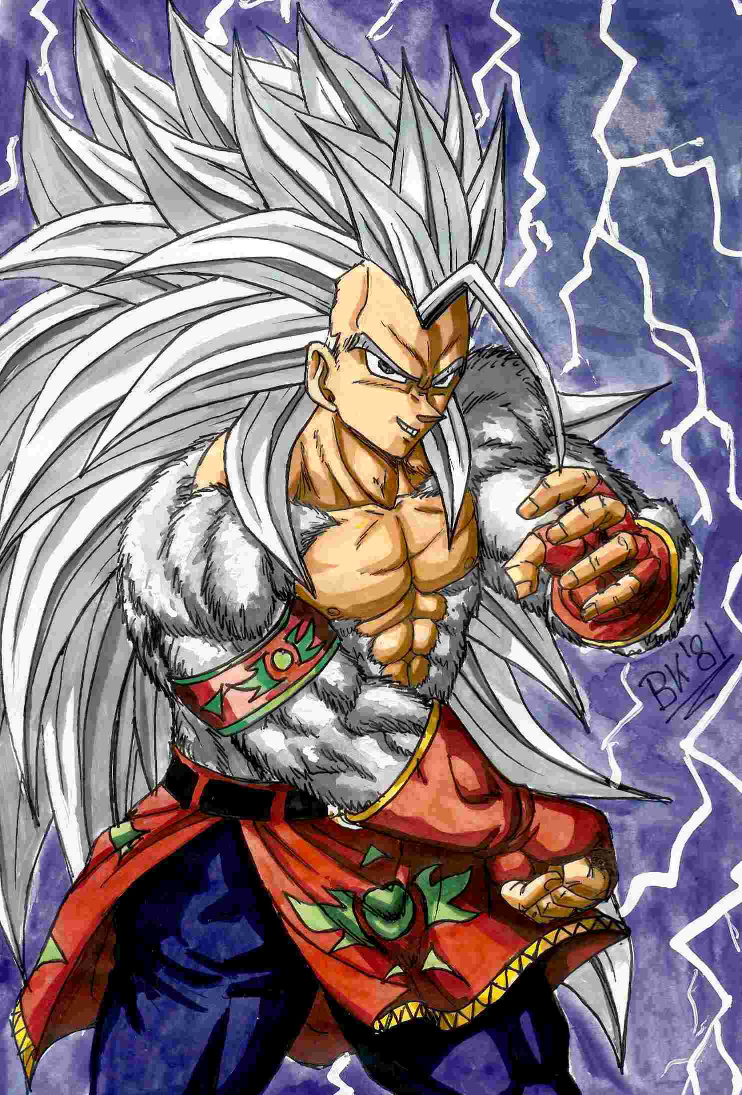 VEGETA Images Ssj5 Vegeta HD Wallpaper And Background Photos