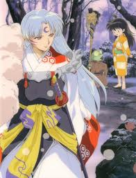 Sesshomaru and Rin wallpaper probably with anime titled sweet child of mine