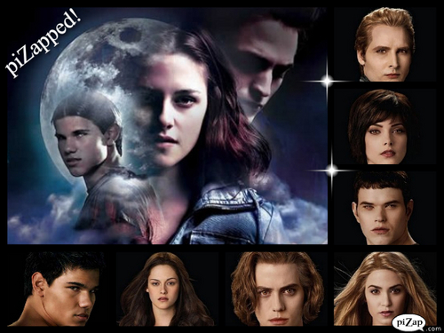 Twilight Saga Фильмы Обои probably with a portrait titled twilight